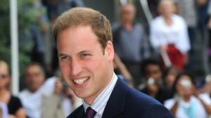 Und Prinz William lächelt dazu