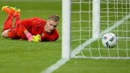 Verhageltes Debüt im DFB-Team