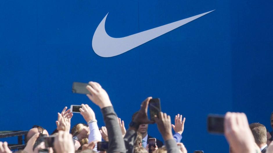 Im Blickpunkt der Ermittler: der amerikanische Sportartikel-Hersteller Nike