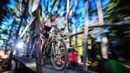 Nicht zu bremsen: Tim Böhme macht auf dem Weg ins Ziel vor allem Tempo