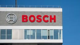 Staatsanwaltschaft ermittelt gegen Bosch-Manager