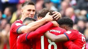 Pflichtsieg für Bayern bei Robbens Rückkehr
