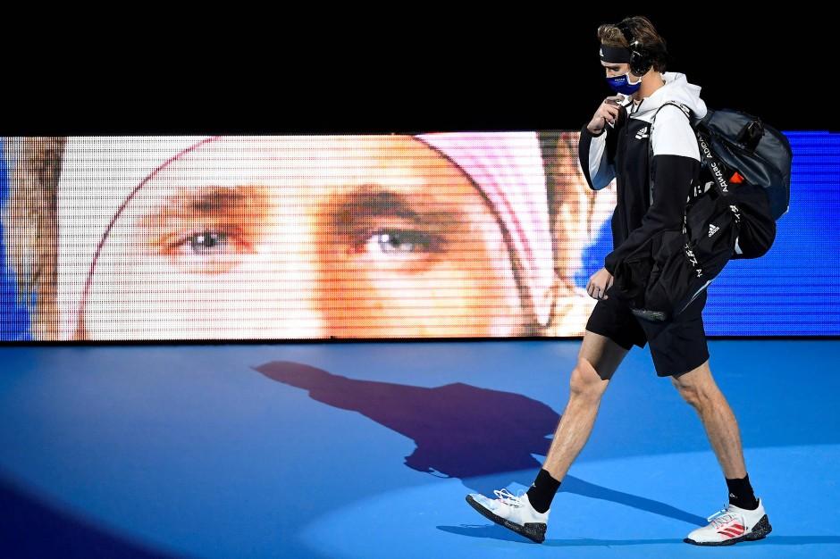 Abgang nach einer turbulenten Saison: Für Alexander Zverev endete in London ein Jahr voller komplexer Ereignisse.