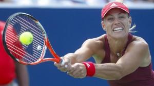 Losglück für Kerber bei US Open