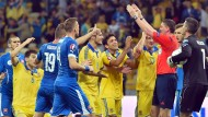 Hymnen-Zoff überschattet Ukraine-Fehlstart