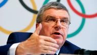 Nun wird die Entscheidung des IOC von Präsident Thomas Bach erwartet.