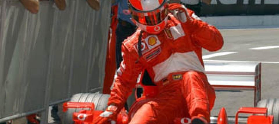 Großer Preis Von Frankreich Forsches Ferrari Team Montoya Macht