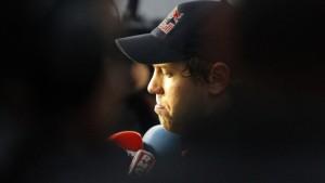 Vettels WM-Hoffnungen platzen in Runde 46