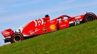 Es geht wieder aufwärts für Ferrari und Sebastian Vettel – im Titelkampf 2018 wohl zu spät.