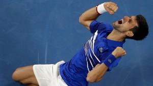 Das perfekte Match des Novak Djokovic