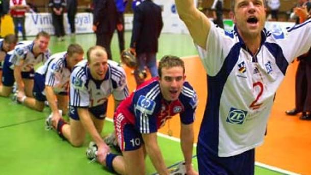 Der FC Bayern im Volleyball