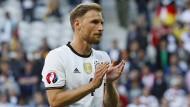 Benedikt Höwedes ist vor dem Frankreich-Spiel entspannt