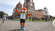 Willkommen in Belarus: Maskottchen Lesik