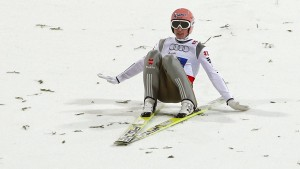 Kollektiver Absturz für deutsche Skispringer