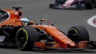 Fernando Alonso wird im McLaren-Honda nicht in Monaco starten