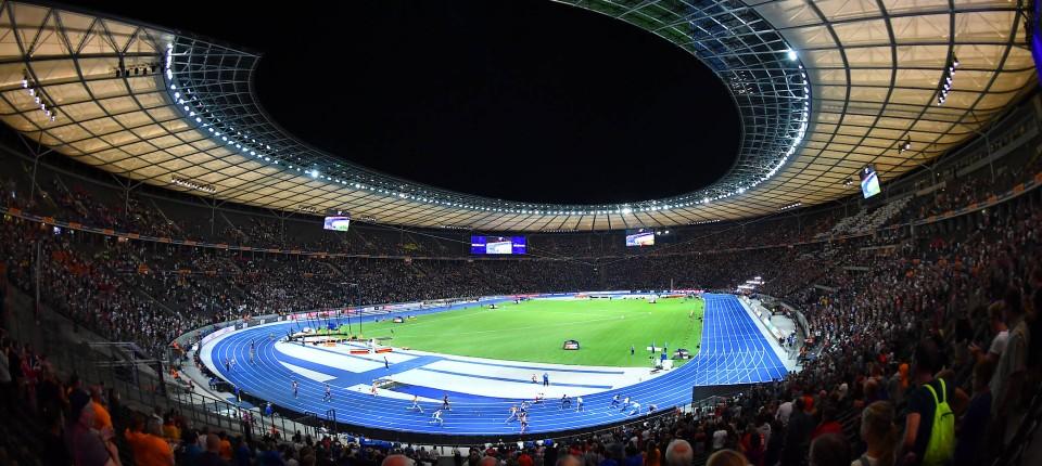 Treffen kostenloser Versand neueste Art von Leichtathletik-EM gibt Erhalt des Berliner Olympiastadions ...