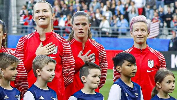 Laufender Protest im Frauenfußball