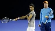 Boris Becker ist nicht mehr Djokovic-Trainer