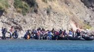 Türkei nimmt 1300 Flüchtlinge fest
