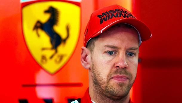 Vettel und Ferrari ohne Vertrauen