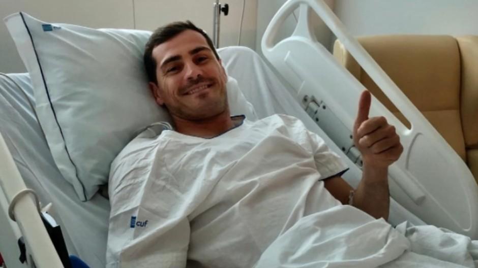 Casillas meldet sich nach Herzinfarkt