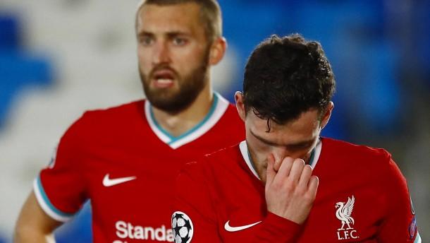Liverpool macht viel zu viele Fehler in Madrid