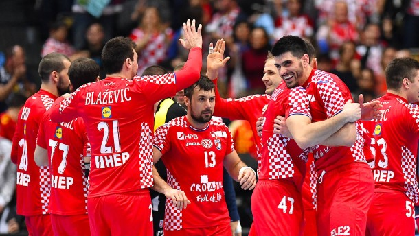 Mitfavorit Kroatien in der Hauptrunde