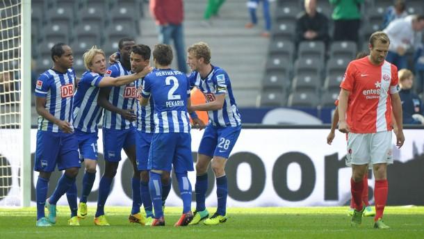Hertha verdrängt den Pokal-Frust