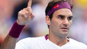 Federer und die Sorgen vor dem Halbfinale