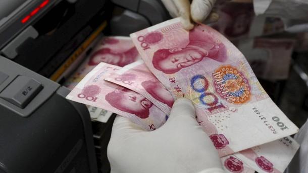 Renminbi könnte erst später Reservewährung werden