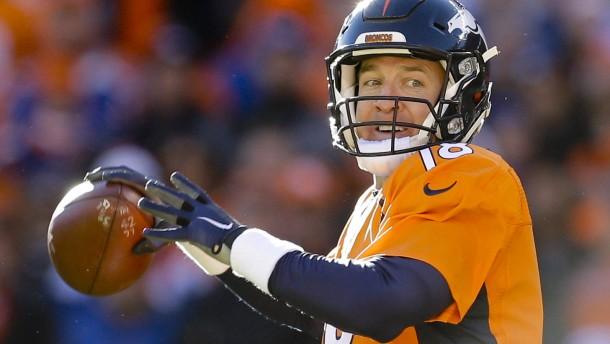 Manning und Brady treffen sich zum Duell der Stars