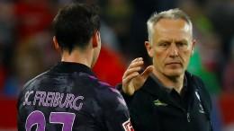 Freiburg teilt nach Elfmeter in Halbzeit gegen DFB aus