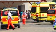 26 Verletzte bei Blitzeinschlag auf Fußballfeld