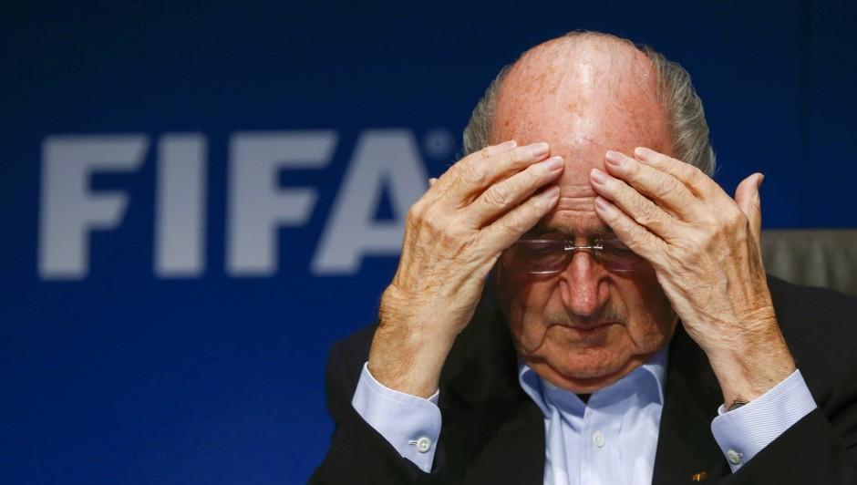 Was braut sich da nur zusammen? Fifa-Präsident Joseph Blatter