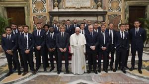 Khedira verpasst Audienz beim Papst