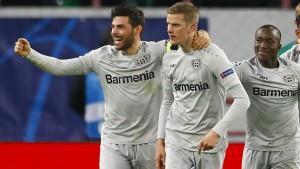 Leverkusen bleibt europäisch dabei