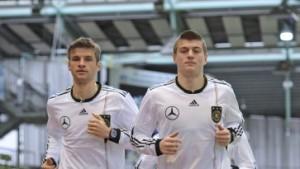 Mit Kroos und Müller gegen Argentinien - Wiese fehlt