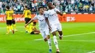 Bundesliga: Mönchengladbach siegt im Duell der Borussen