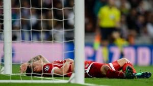 Bayern München verpasst in Madrid das Tor zum Finale