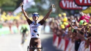 Mountainbiker gewinnt achte Etappe