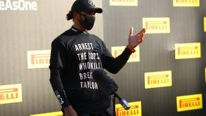 Keine Proteste mehr auf dem Formel-1-Podium