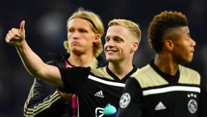 """""""Die Ajax-Show verzückt ganz Europa"""""""