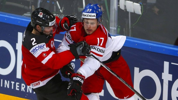 Russland gegen Kanada im Finale