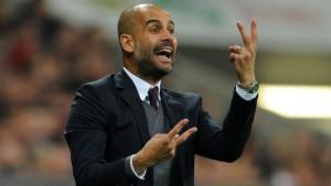 Guardiola warnt vor der doppelten Borussia