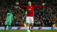 Ibrahimovic sichert Manchester United einen souveränen Sieg.