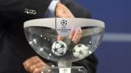 Die Champions-League-Auslosung im Livestream