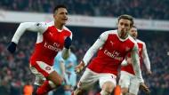 Spektakulärer Sieg von Arsenal in der 99. Minute