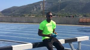 Superstar trainiert für Olympia