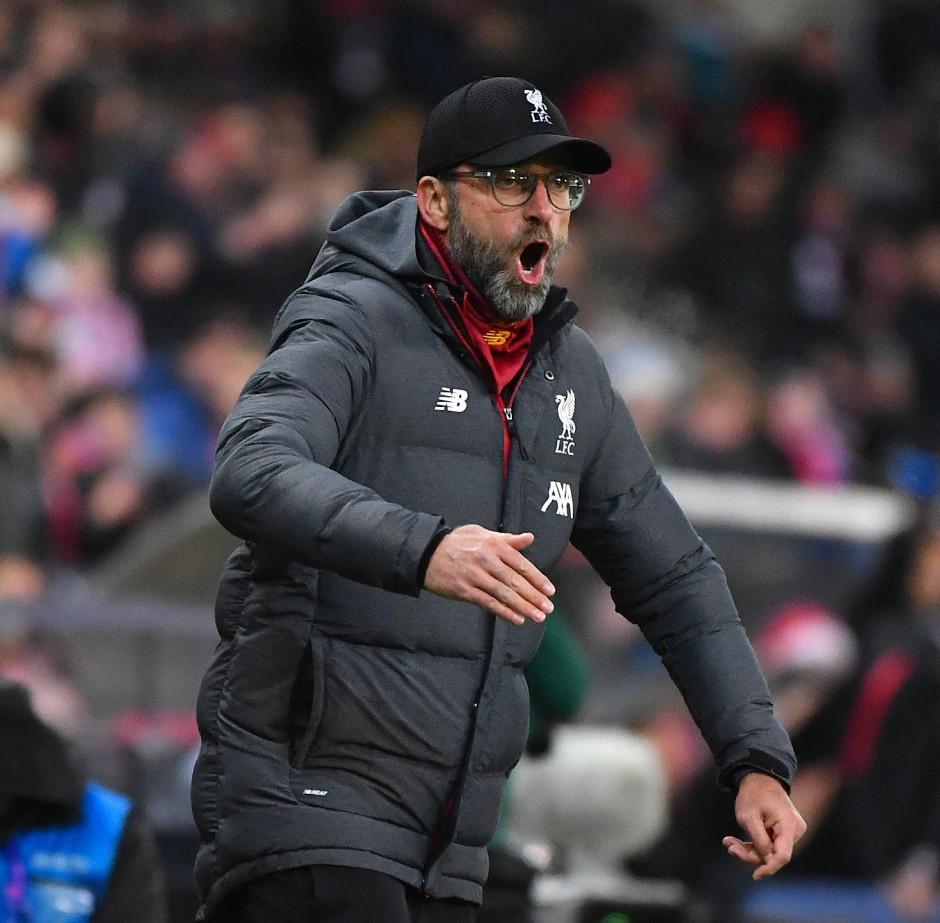 Gut gebrülllt, Trainer: Auf dem Weg in die K.o.-Phase musste Jürgen Klopp sein Team wachrütteln.