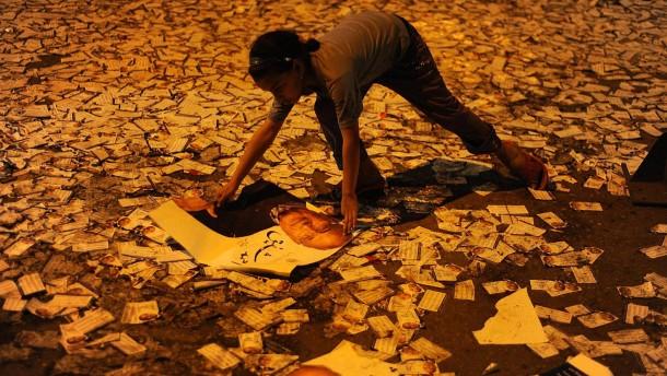 Proteste auf dem Tahrir-Platz